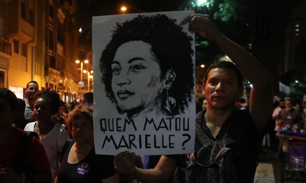 Prominent activists, film-makers and writers demand an independent investigation into the killing of the campaigner and her driver, Anderson Pedro Gomes, in Rio de Janeiro