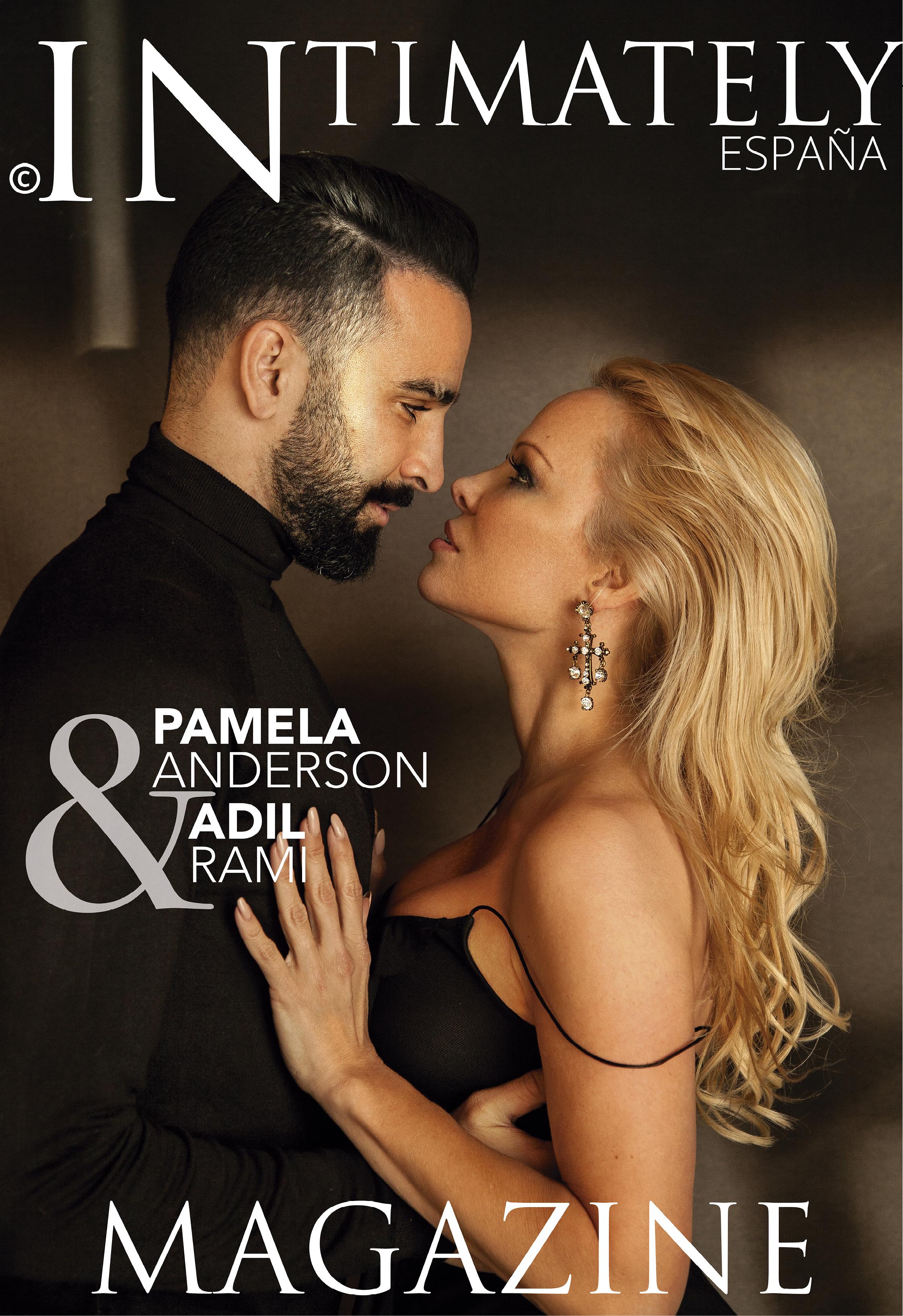 CA portada_intimately magazine Pamela Anderson Adil Rami M.jpg