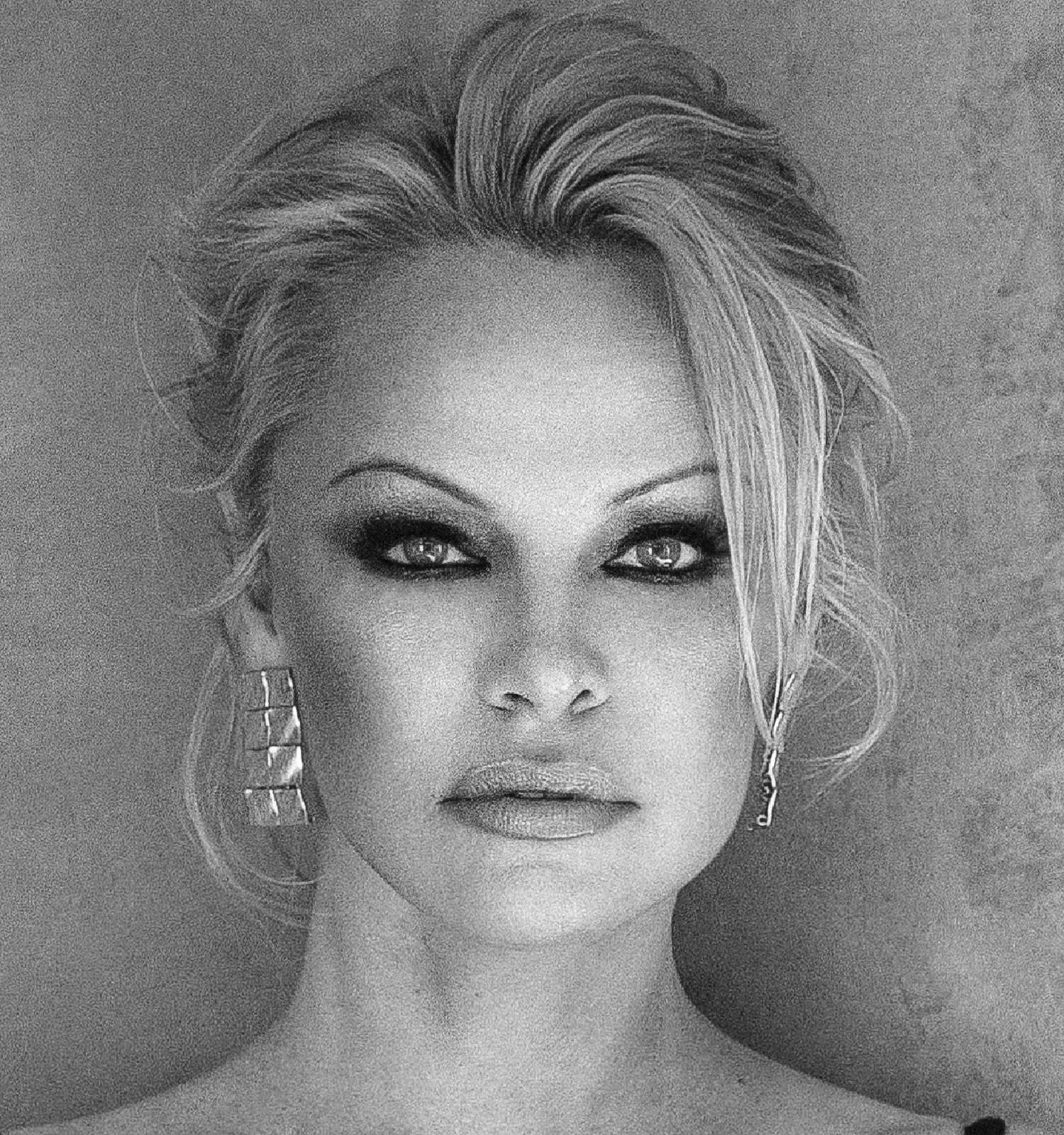 Pamela Anderson, photographed by Carmelo Redondo in the South of France in April 2019