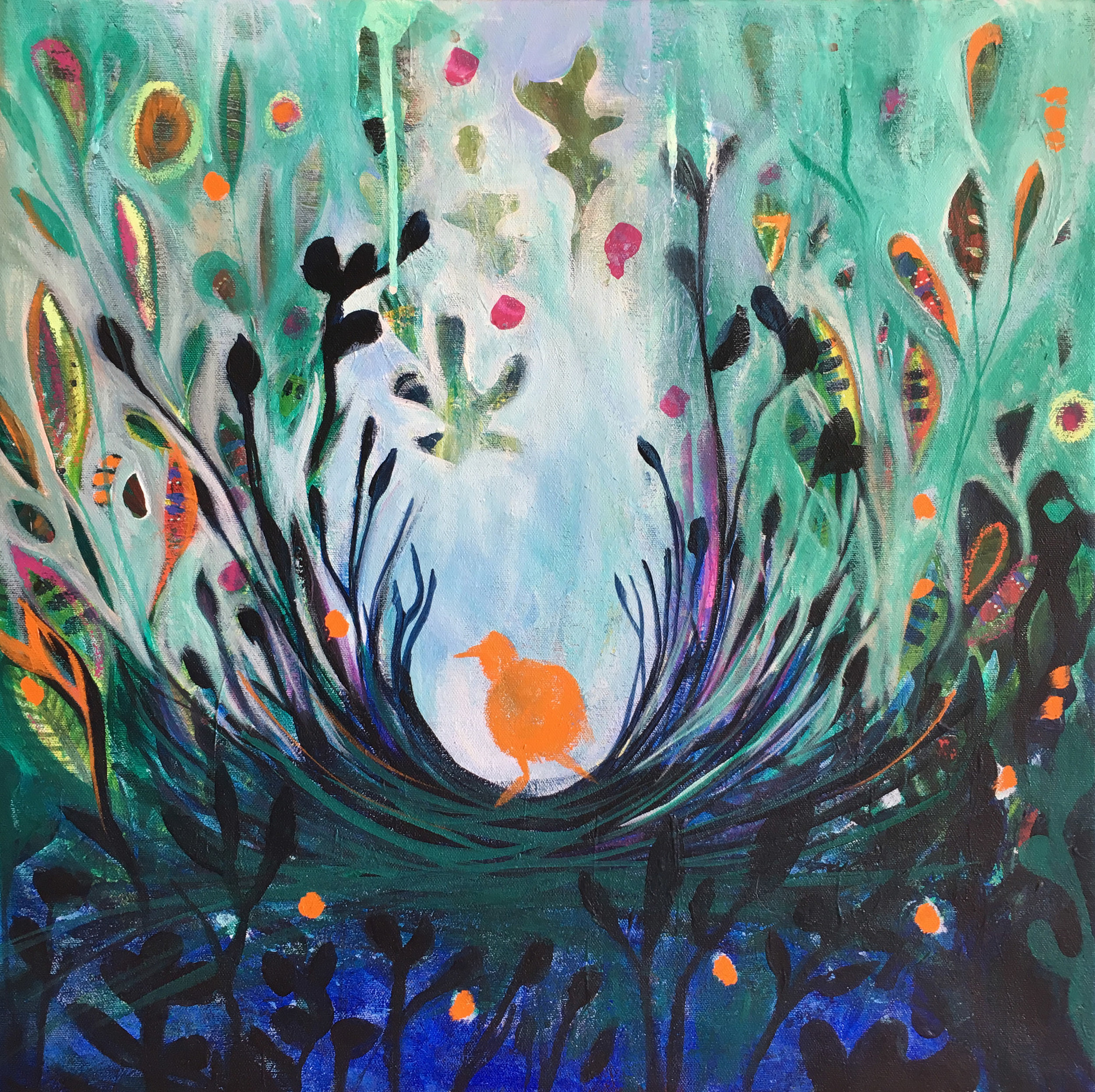 'Morning Bower' - Work in progress