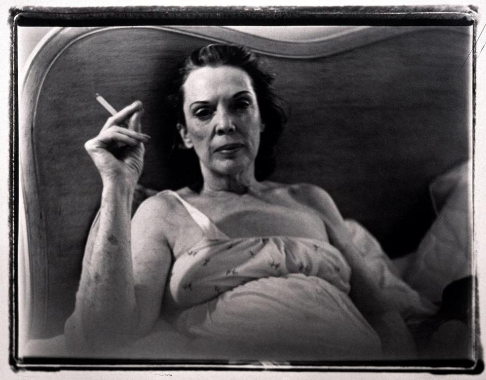Mom Smoking , 1969.