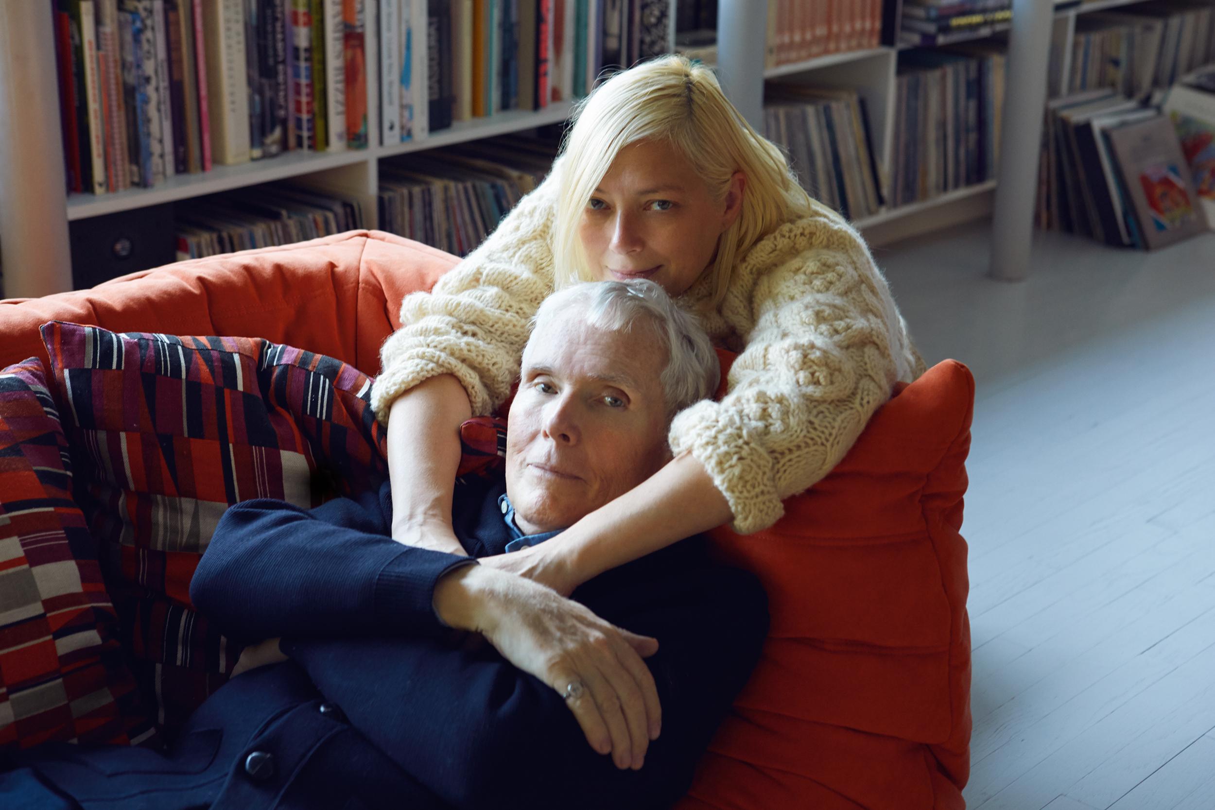 O'Brien with his wife and PR maven,  Gina Nanni .