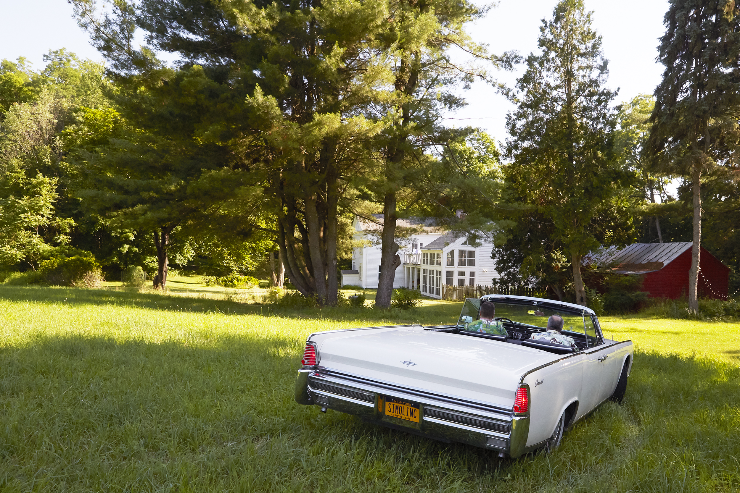 Let's go for a spin! 1965 Lincoln Continental convertible.