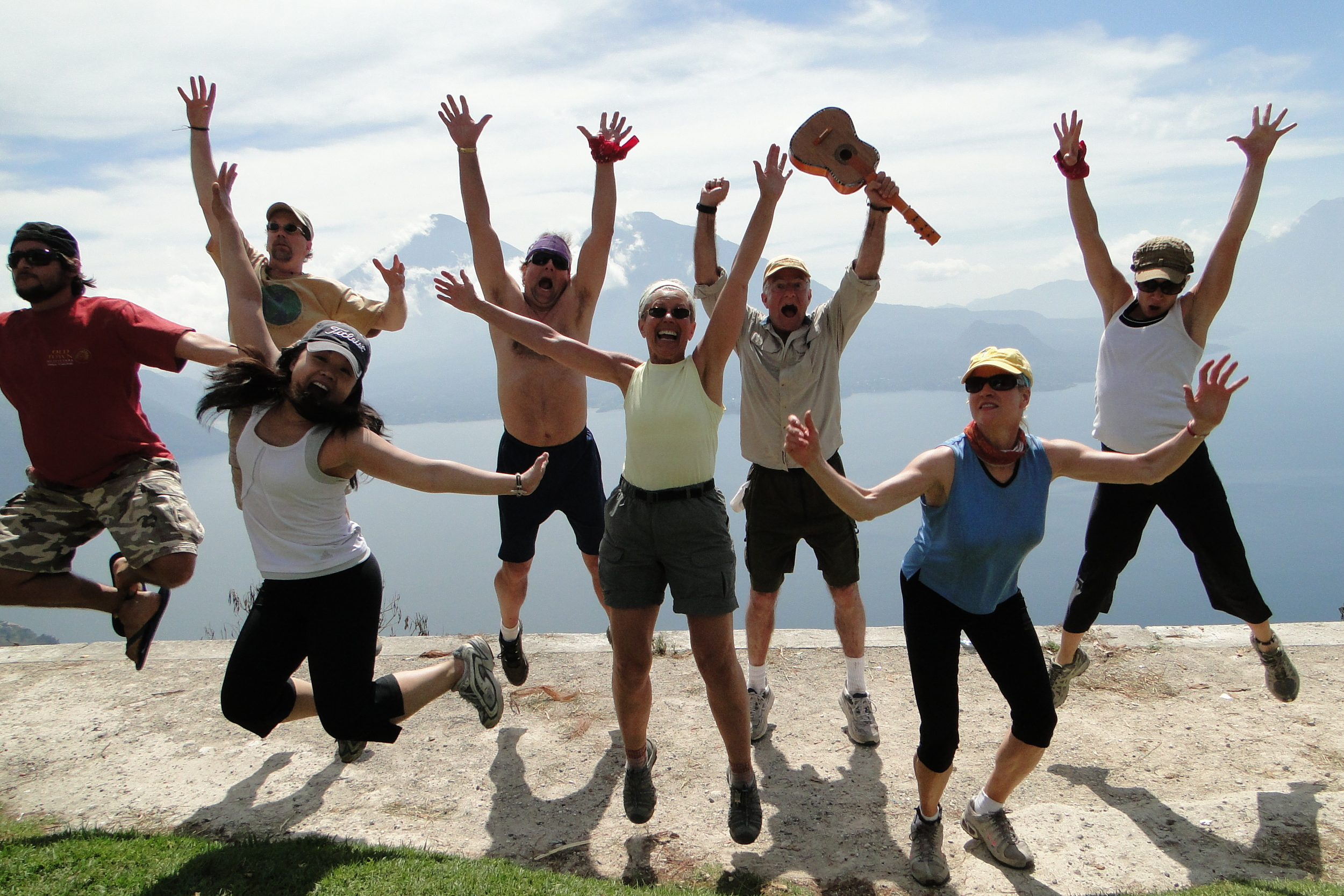 Guatemala  We built energy efficient stoves through Old Town Outfitters, hiked and kayaked Lake Atitlan, and biked Antigua Valley.