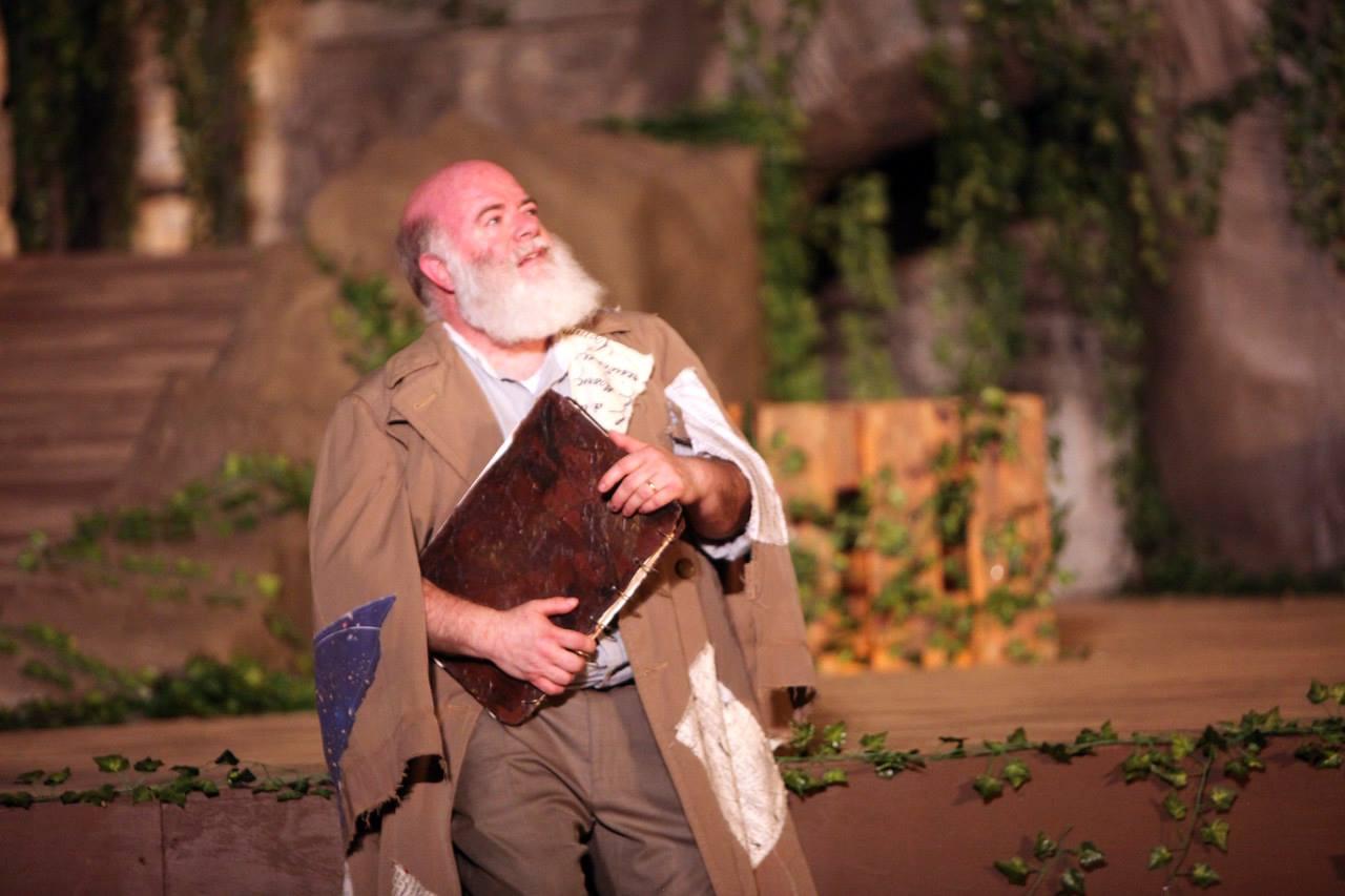 Prospero and his book