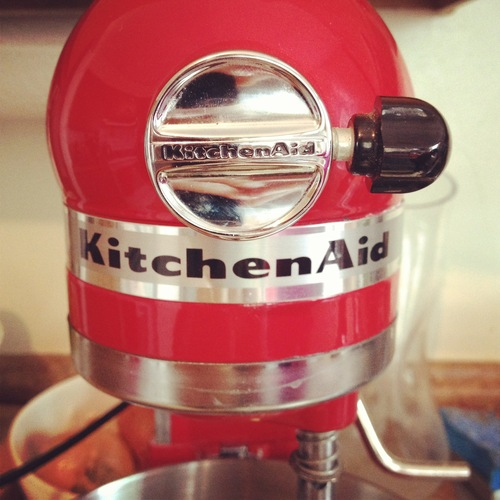 Say hello to your KitchenAid.