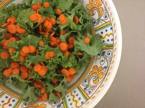 For the carrot confetti convention. (CCC)