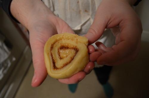 Raw schnecken! (See, it looks like a snail.)