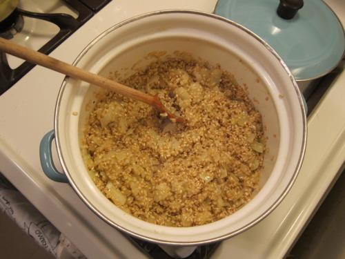 Add risotto.