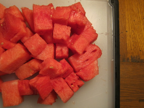 To be perfectly honest, you gotta buy some watermelon.