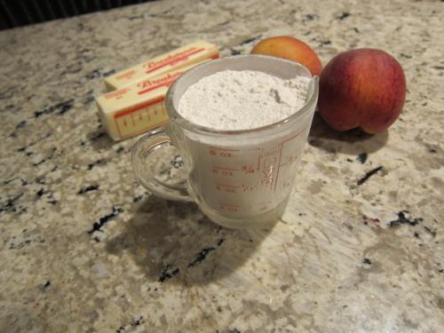 2 3/4 cups + 2 tbsp flourpower.