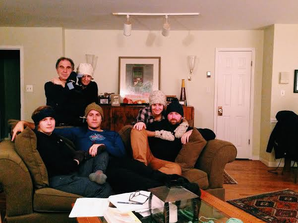 Happy Last Night of Hanukkah with an Awkward Family Photo!