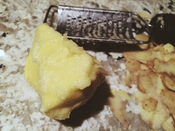 Horrible attempt made at hand-grating potato #1.  Uncheck.