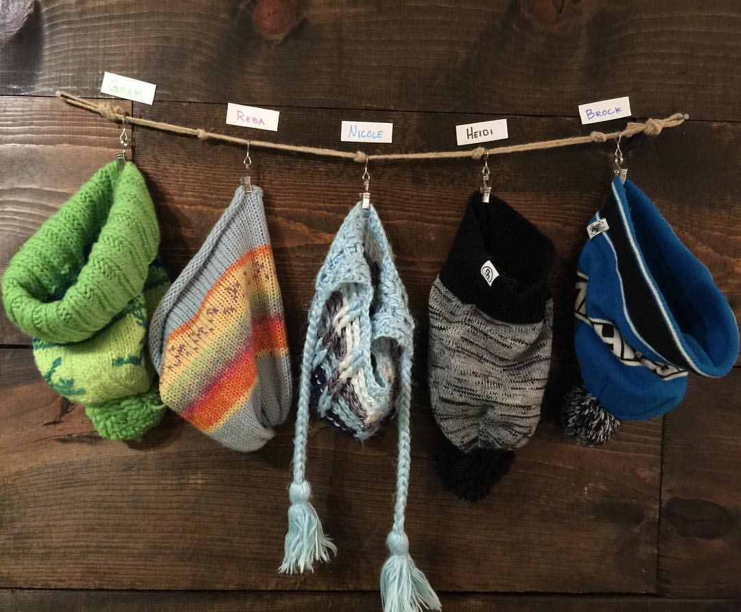 Beanies make for a fun alternative for Christmas stockings.