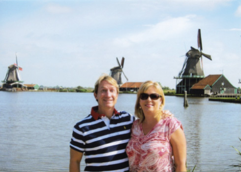 Craig and Patti in the Netherlands.