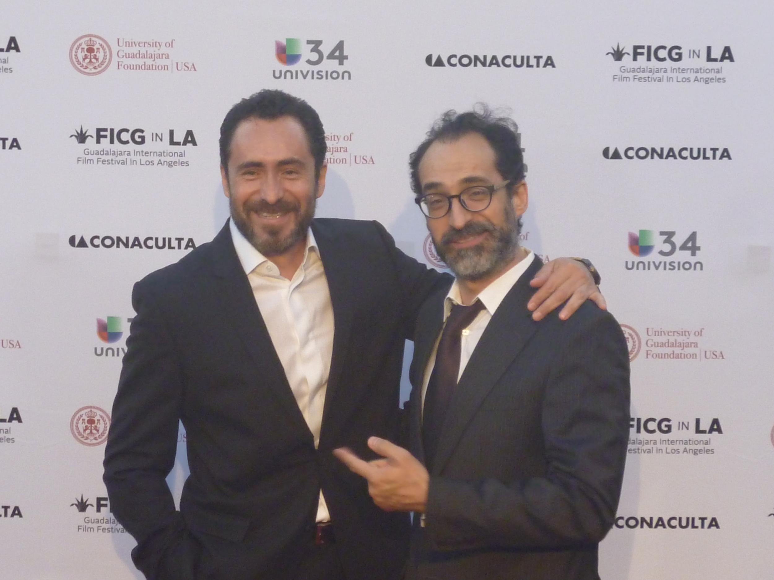 Damian Bichir y su hermano Bruno.JPG