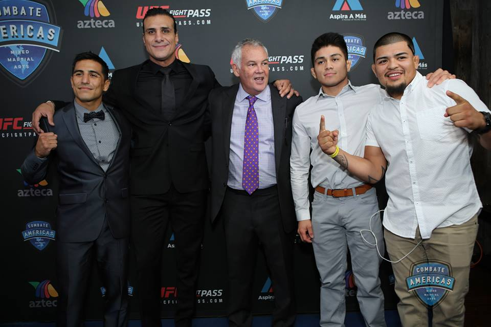 Gustavo Lopez, Alberto El Presidente, Campbell McLaren, John 'Sexy Mexy' Castañeda and Jose 'Froggy' Estrada.jpg