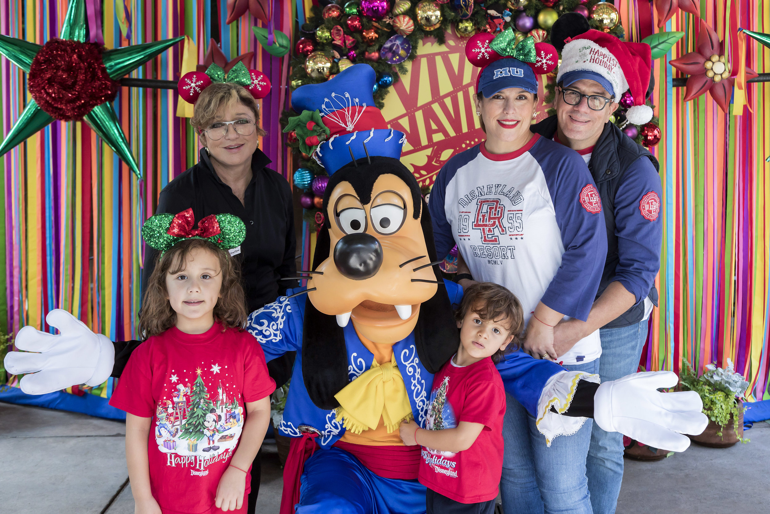 Angelica Maria and Angelica Vale at Disney California Adventure Park - Disneyland Resort - 12/22/18. (Joshua Sudock/Disneyland Resort)