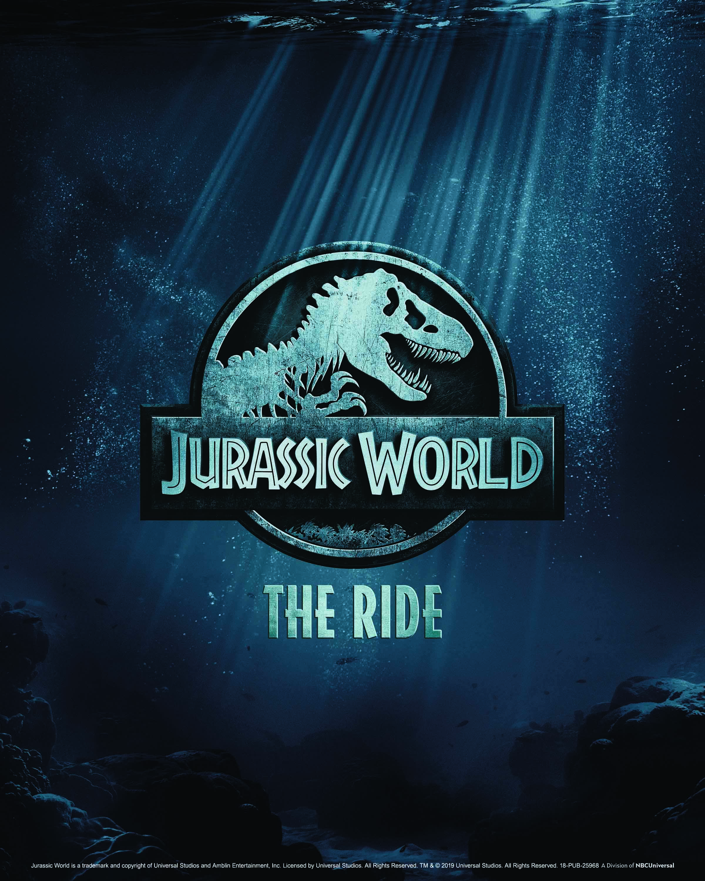 """Jurassic World--The Ride"" opens this summer at Universal Studios Hollywood (2019)"