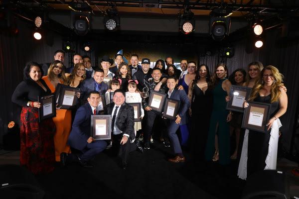Los galardonados (Foto: JC Olivera)