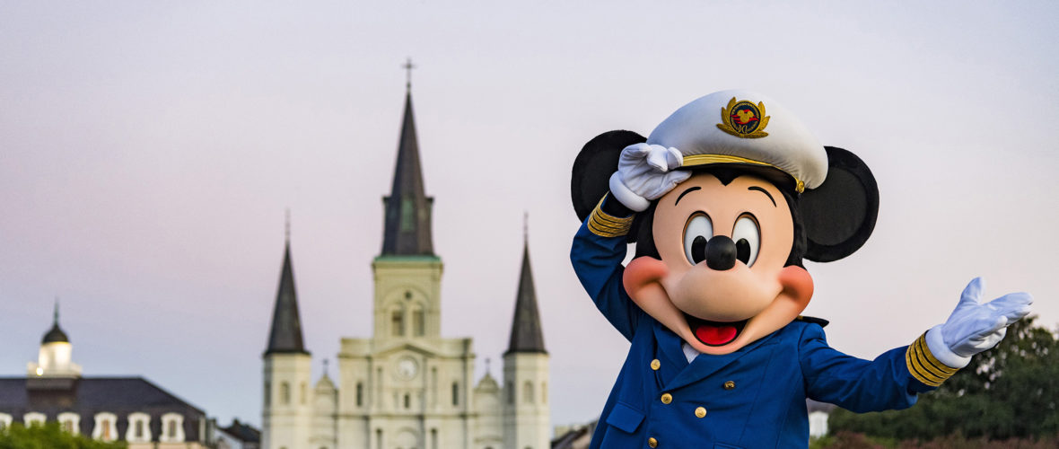 Disney Cruise Line to Sail from New Orleans in 2020