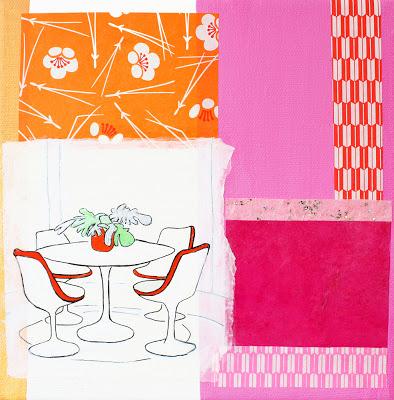 Pink Mod Kitchen