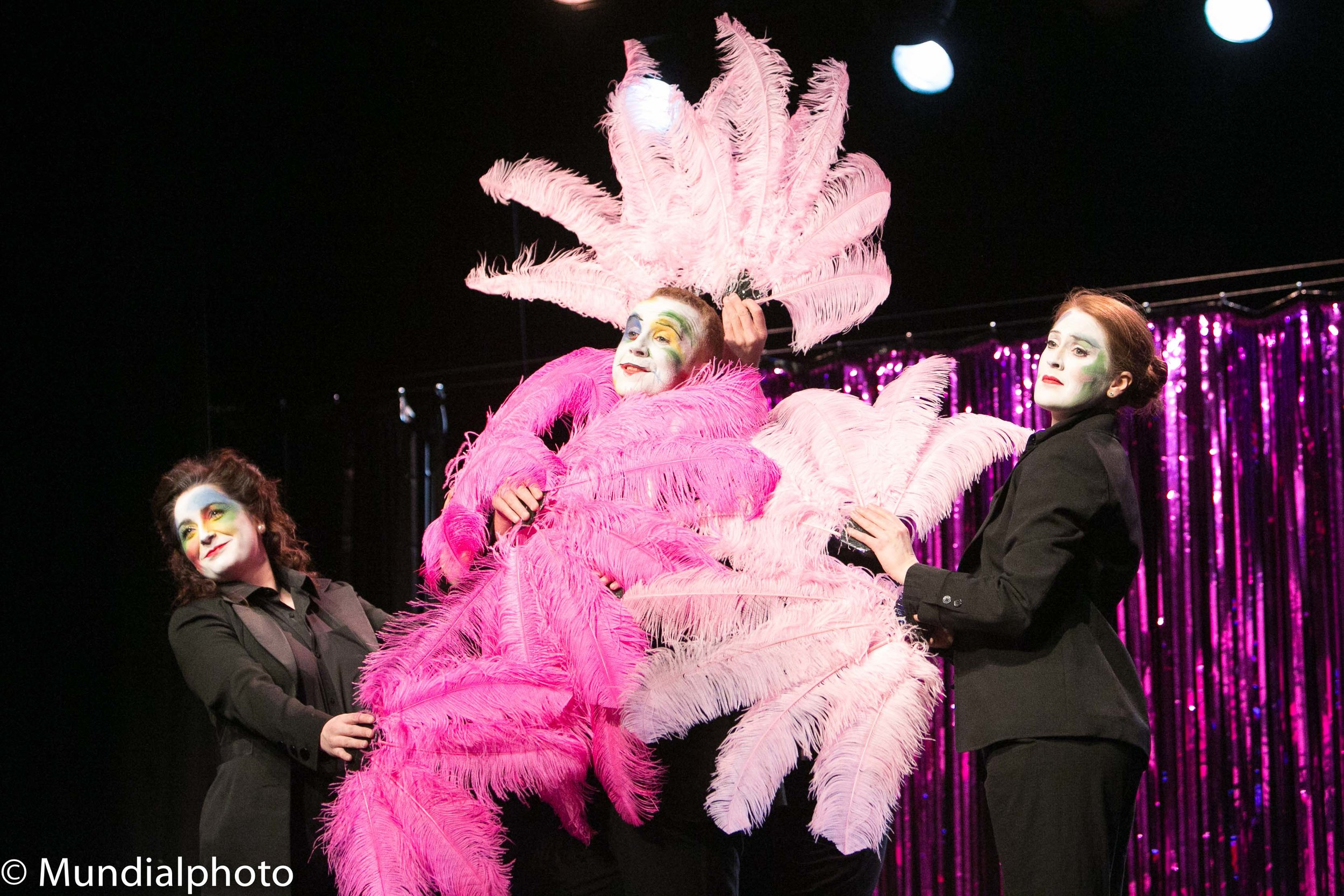 The Sphinx Theatre company's production of a Berlin Kabaret at the Warren @Brightonfringe