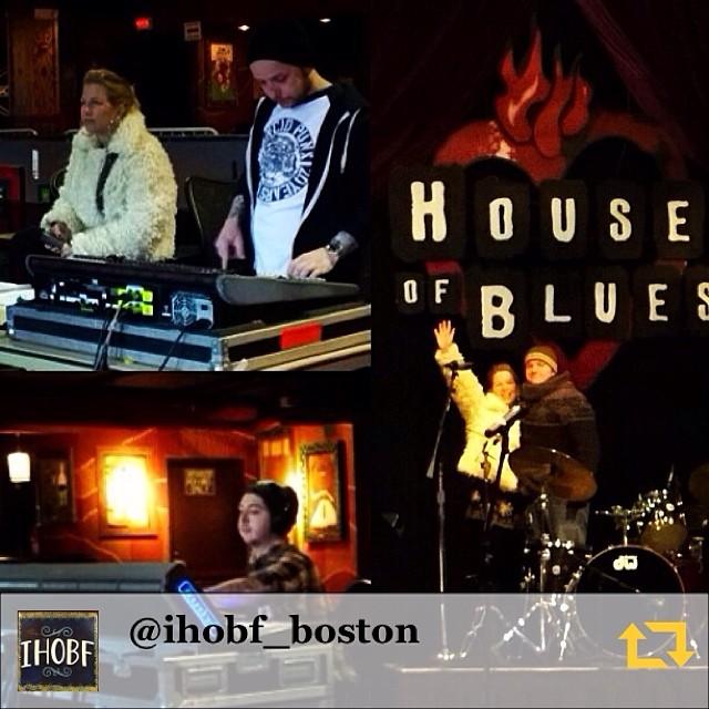 RG @ihobf_boston: Love these people.  @prj80 @mikey_ad @ahjonesmusic #hobboston #ihobf #bluesschoolhouse #soundcheck #lansdownestreet #musiceducation #bluesmusic #bluesistheroots #rocknroll #jazz #gospel #soul #jenny #puffycoats #regramapp