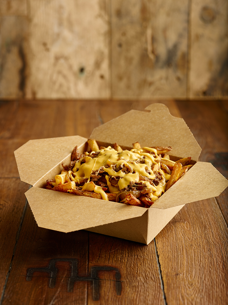 Cheesesteak Poutine
