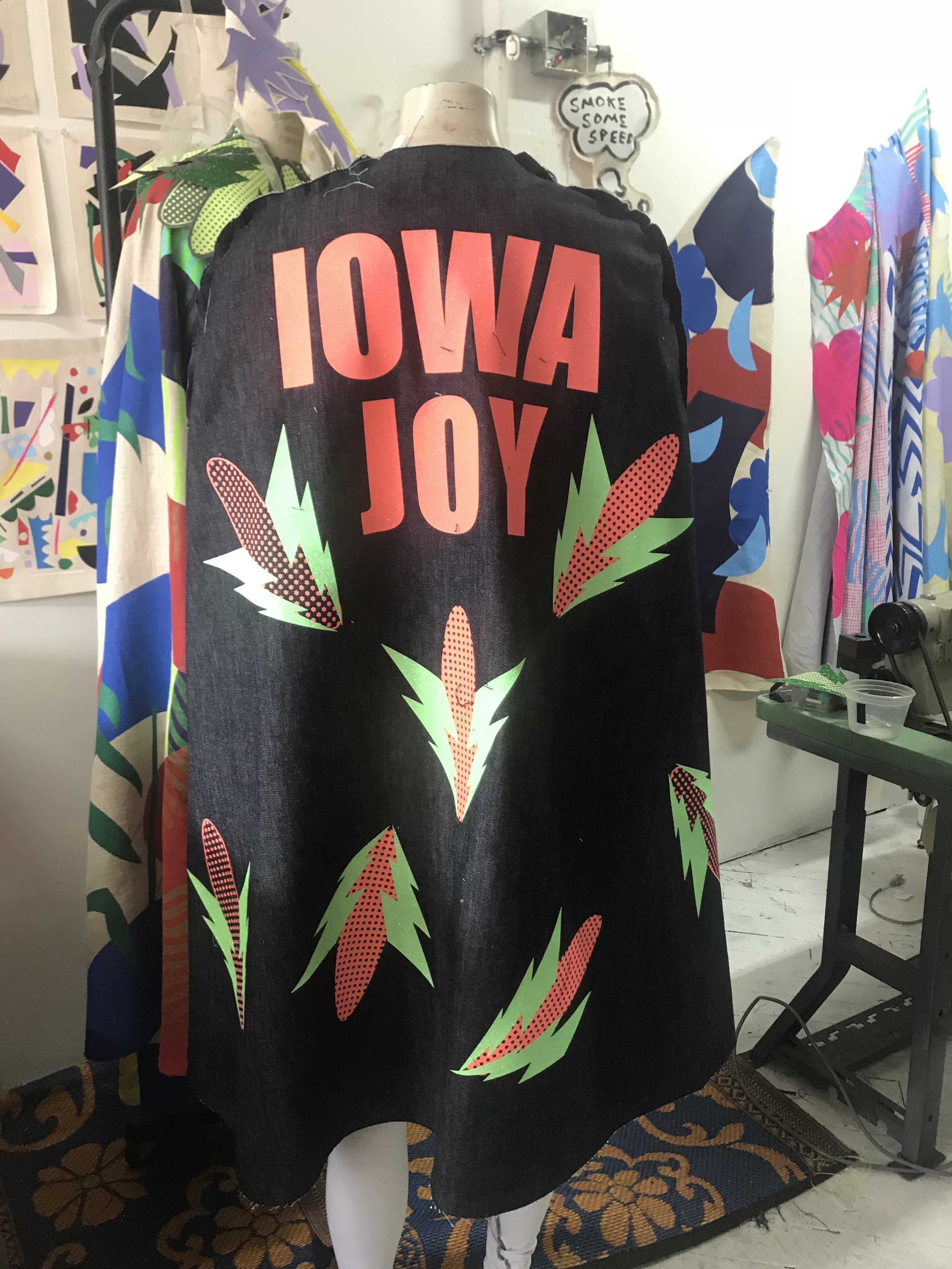 Iowa Joy, my alter ego.