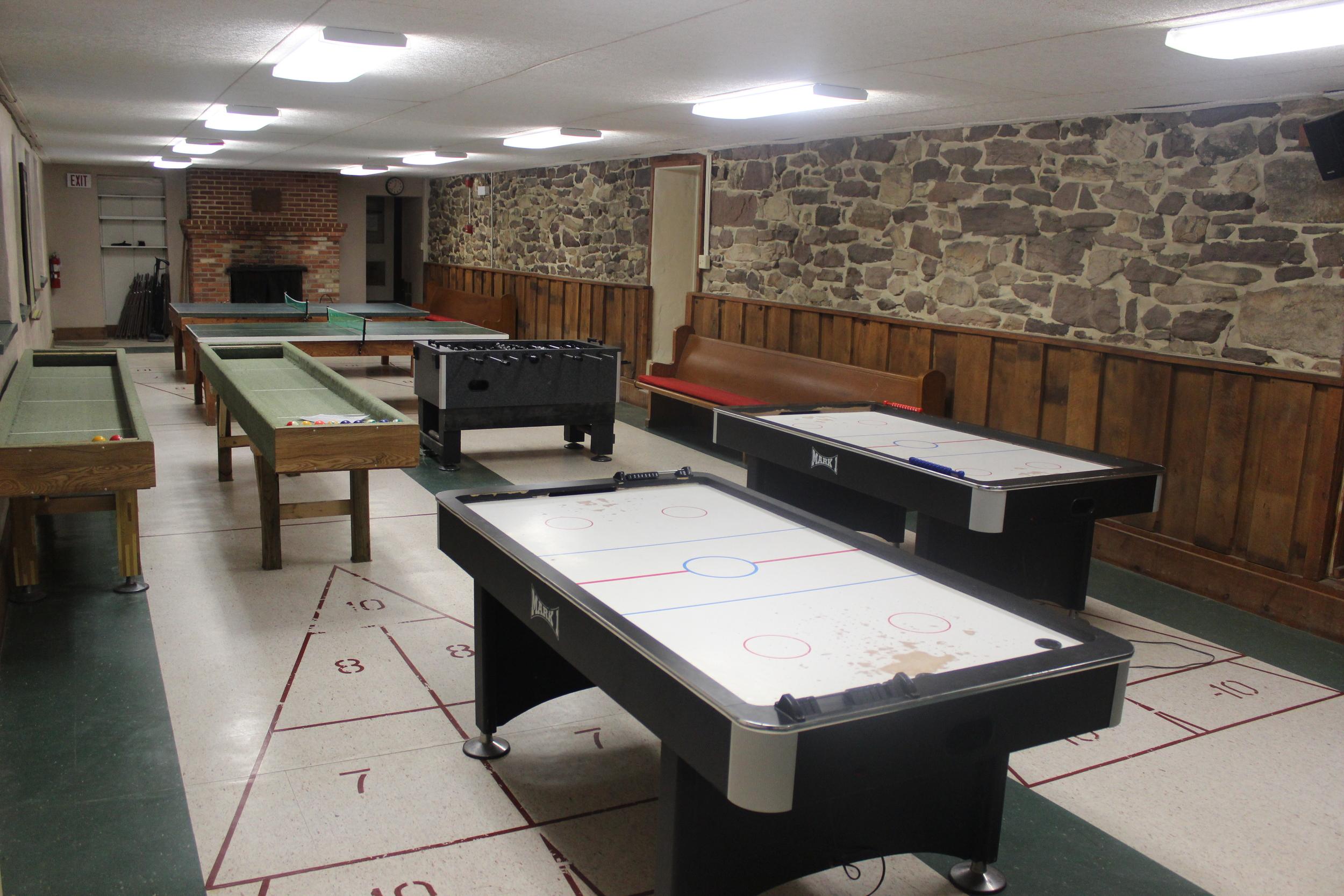 Main Lodge - Rec Room