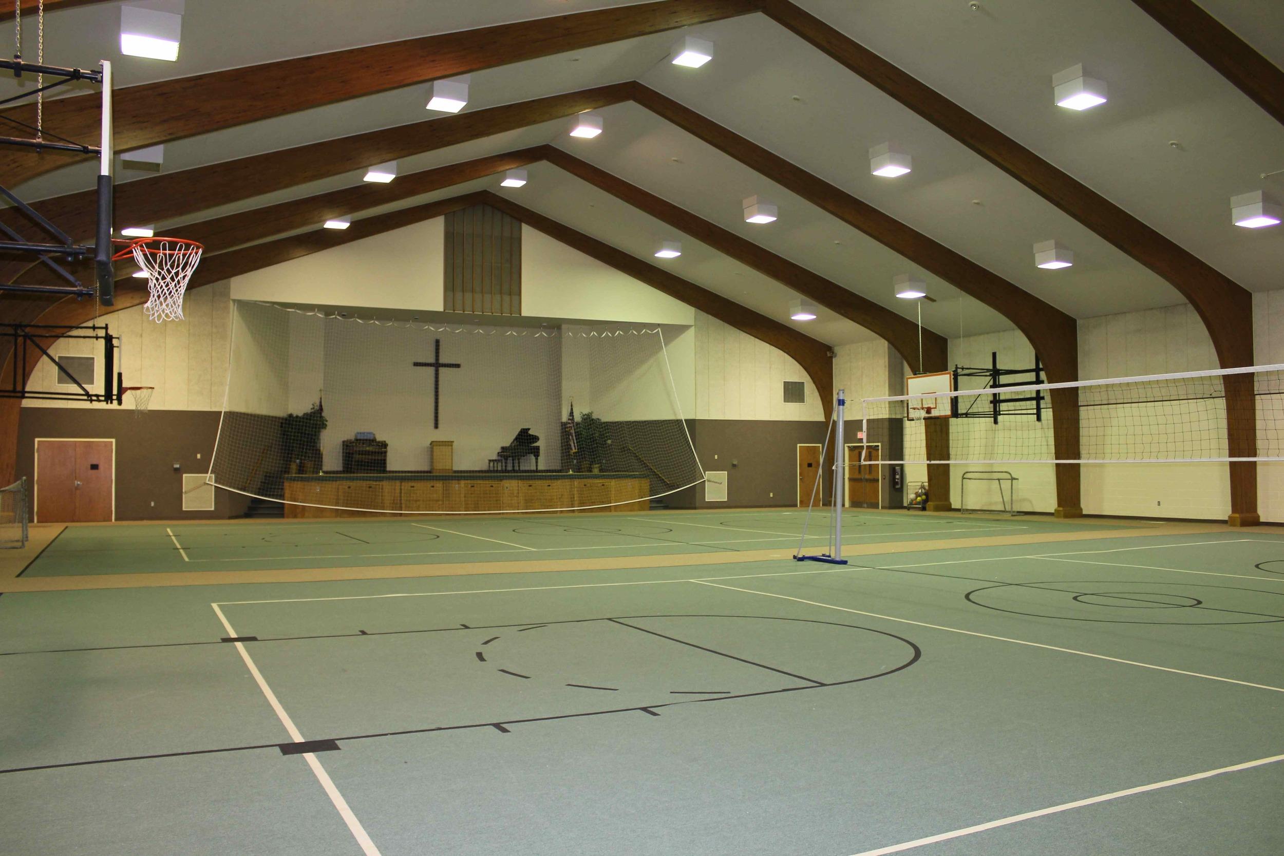 Gymnatorium - Main Gym Floor