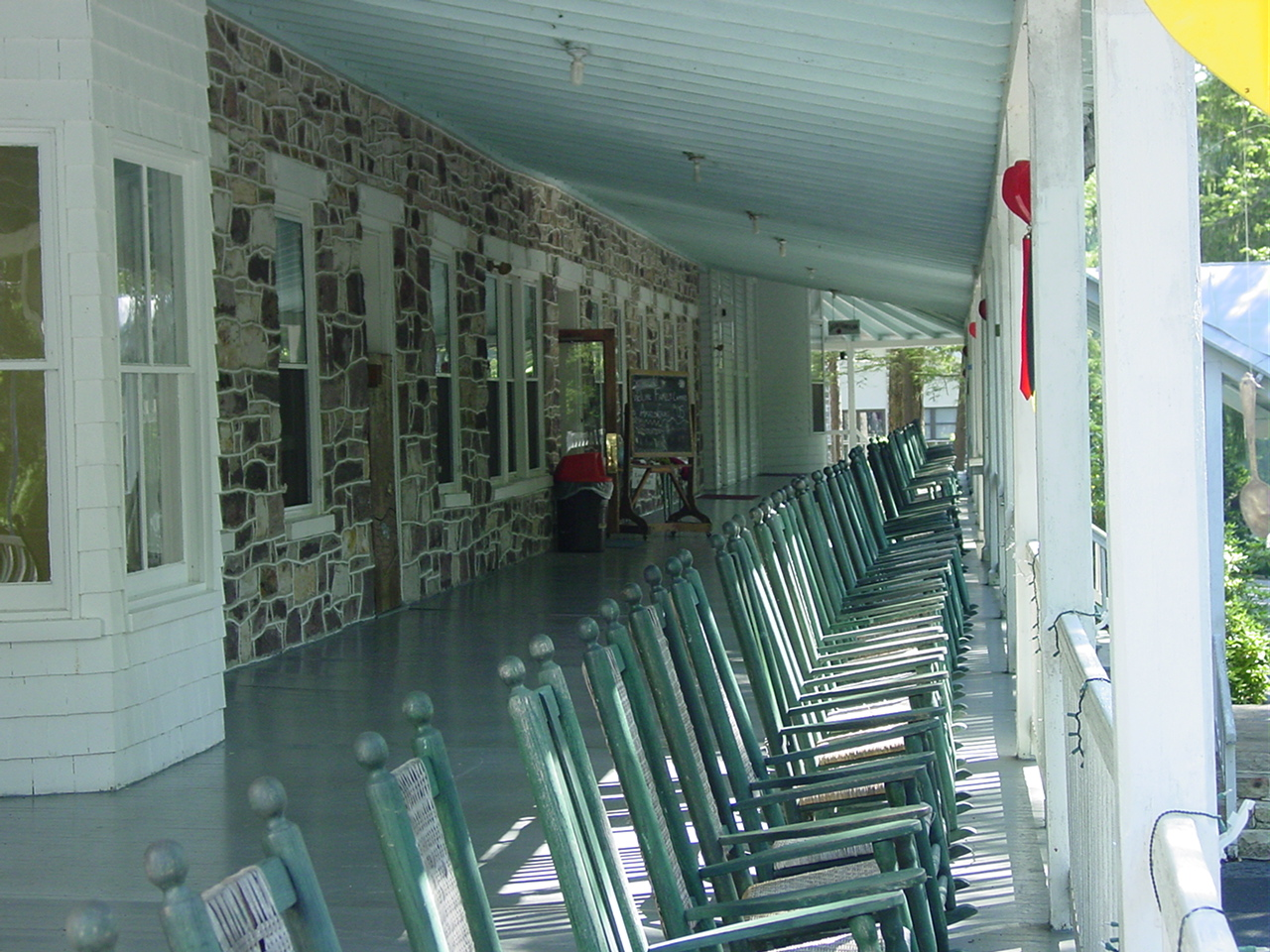 Main Lodge Porch
