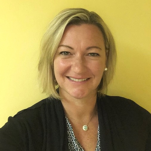 "Meet Heather, MA LCMHC, Clinical Director in New Hampshire - ""One of the things I like most about working for Groups Recover Together is the lack of bureaucracy. In this organization we work diligently to remove barriers, rather than create them. Everyone is focused on giving our members what they need to succeed, not on process and paperwork."""