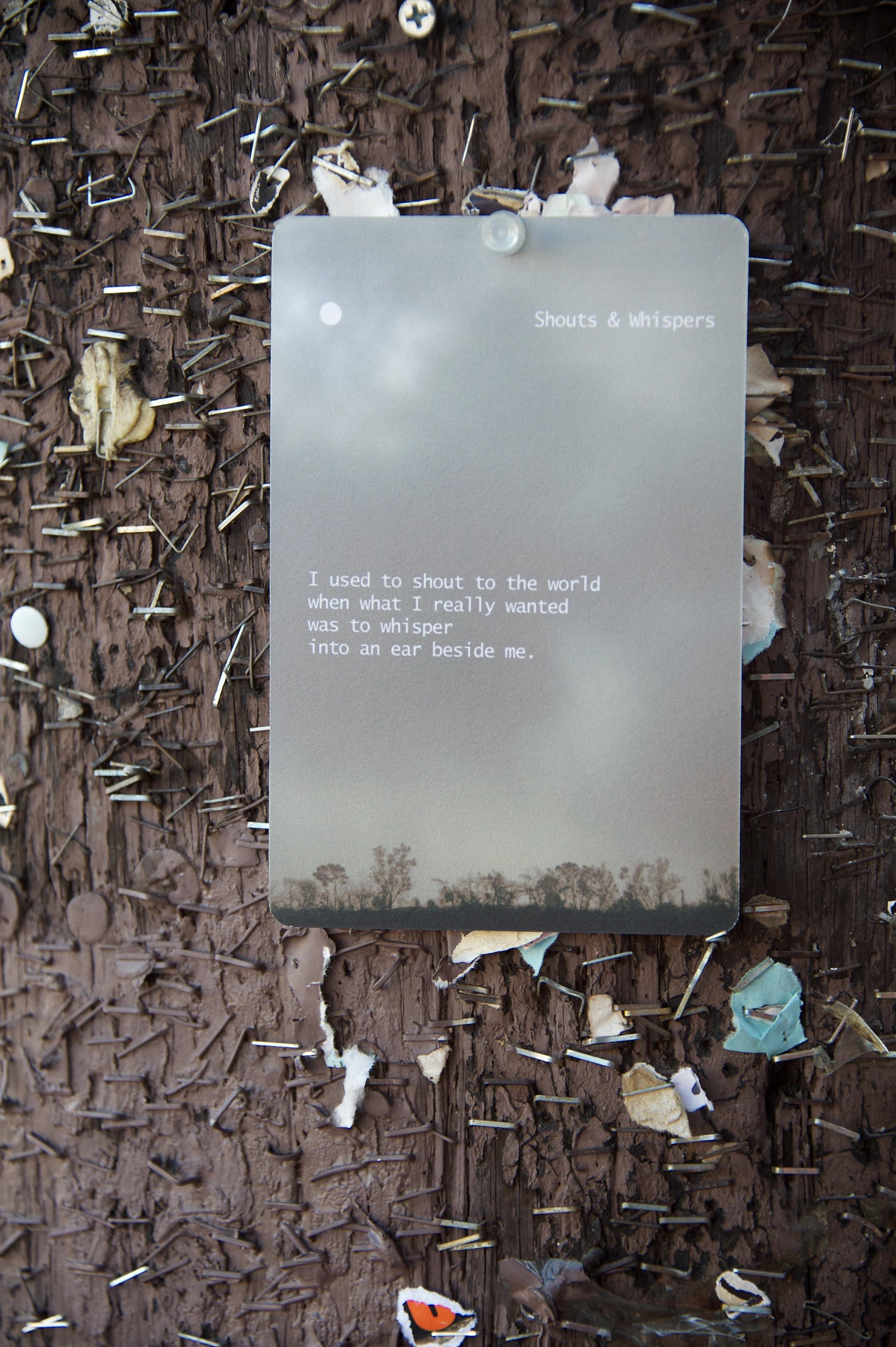 ' Shouts & Whispers ' at Lemoyne in Echo Park.