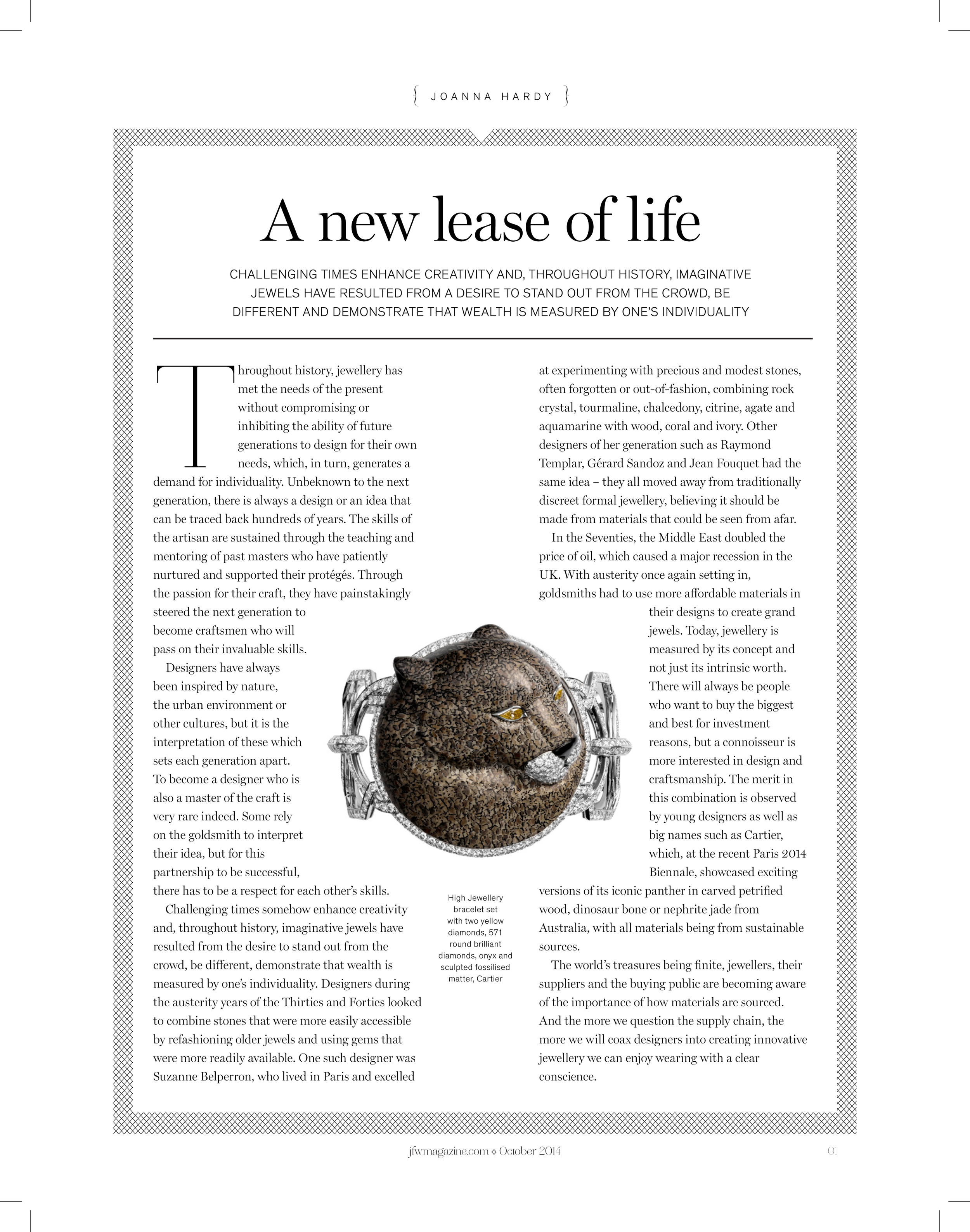 JFW Magazine.com October 2014