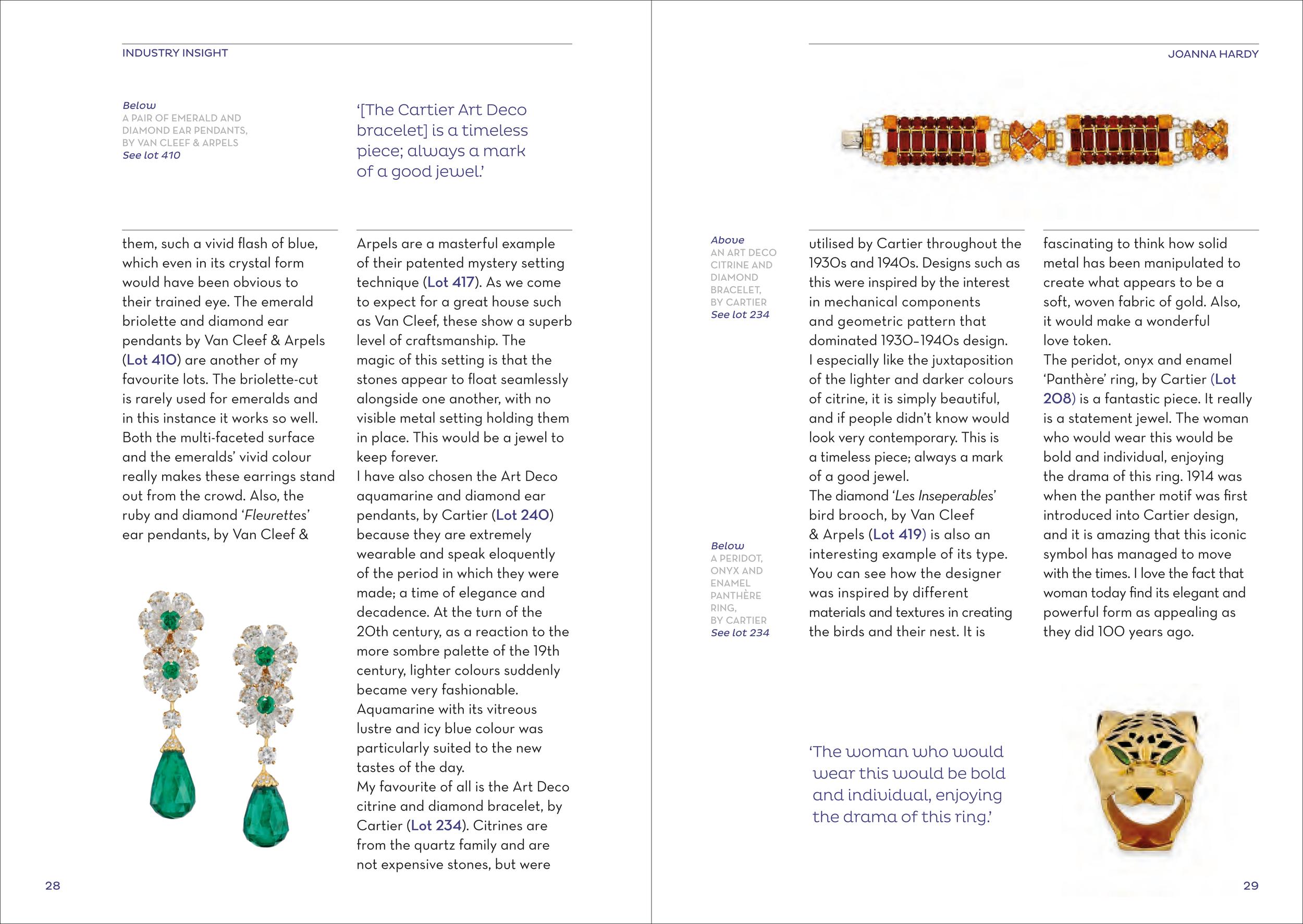 Christie's Look Book November 2014