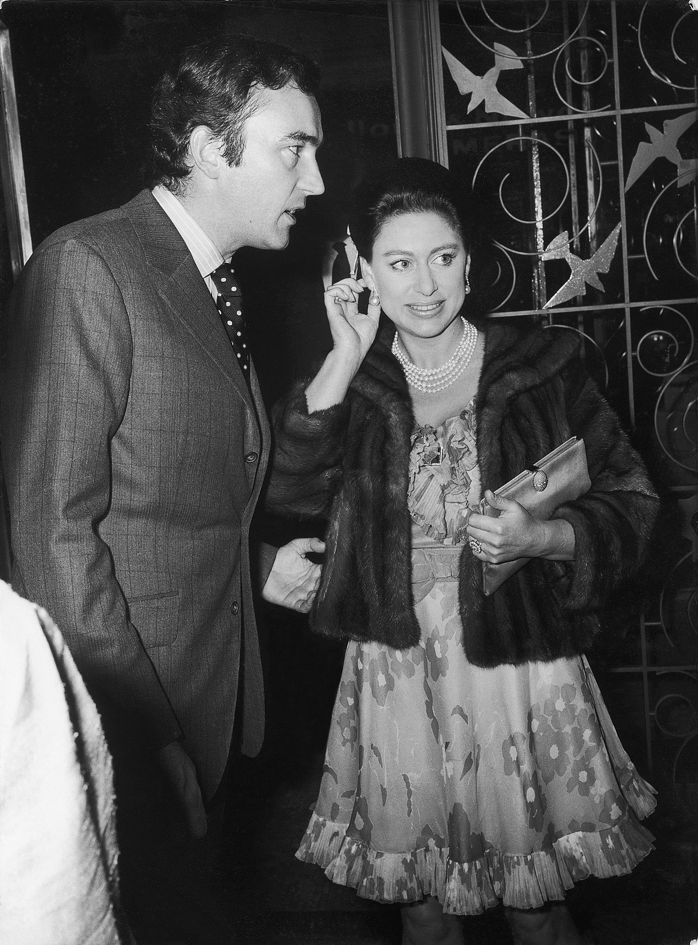 John Donald and Princess Margaret