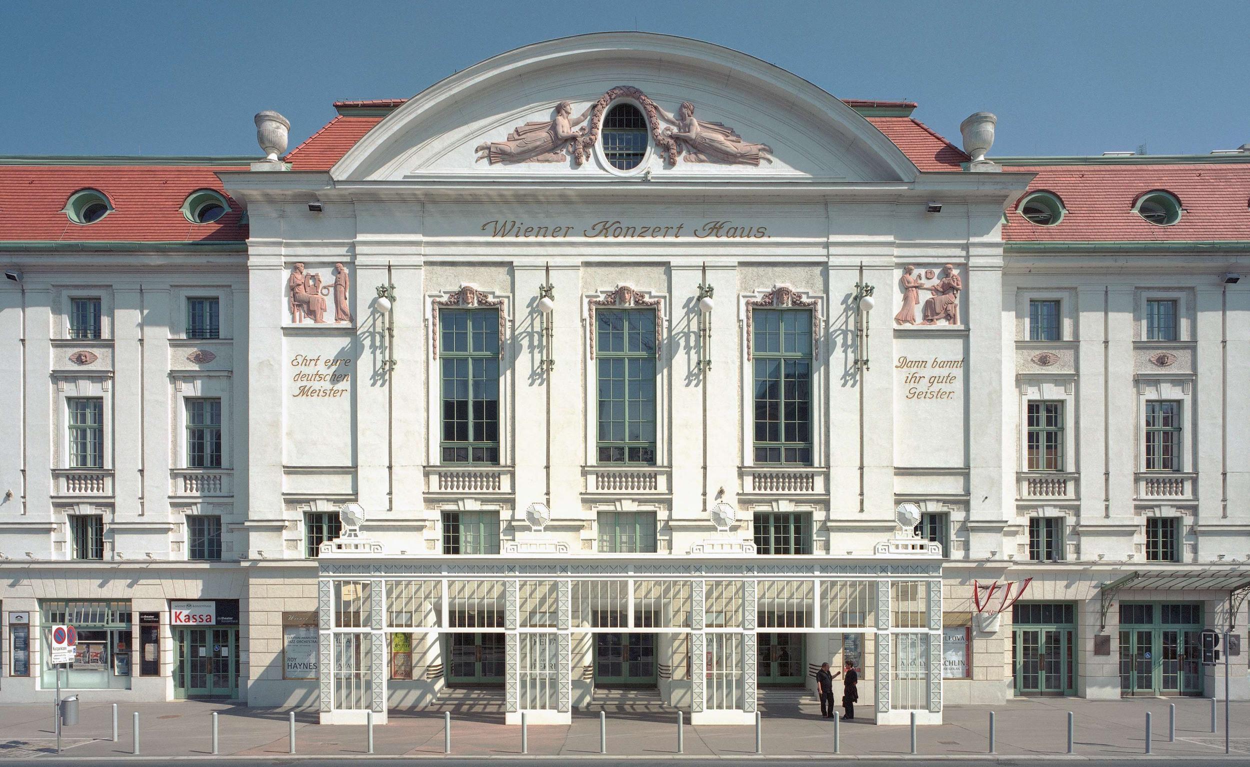 Vienna Konzerthaus(c) Herbert Schwingerschloegl