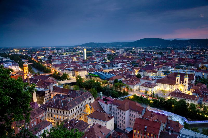 The City of Graz.© Graz Tourismus, Foto: Werner Krug