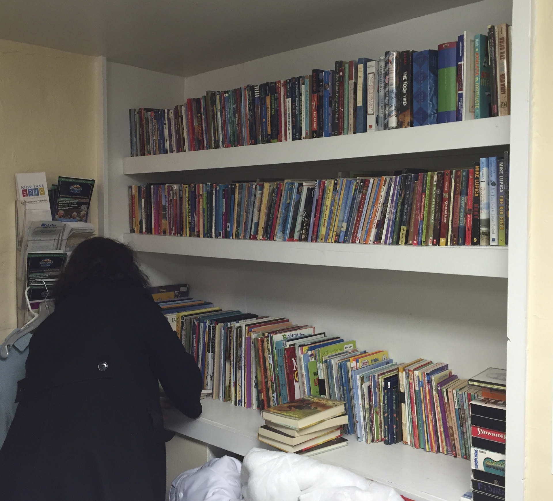 Our children's bookshelf
