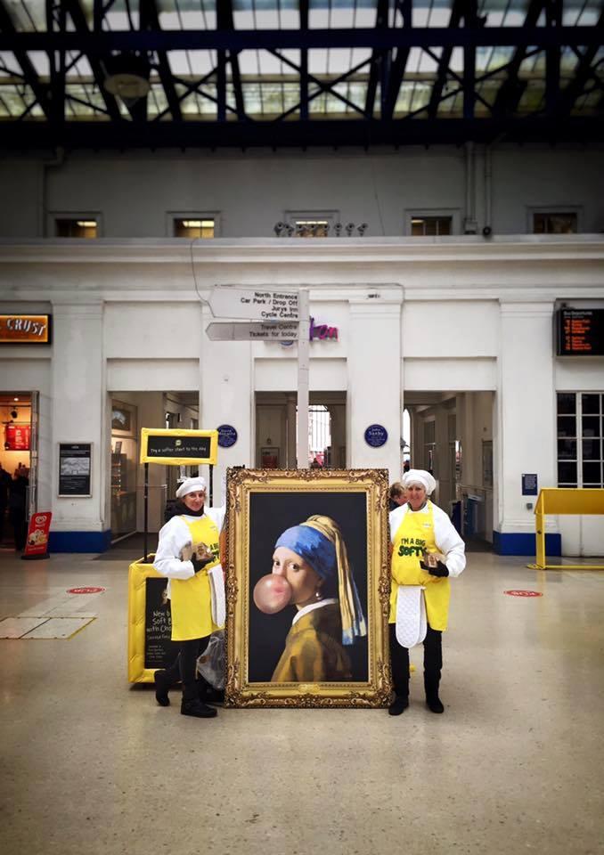 Brighton train station impromptu photo shot.