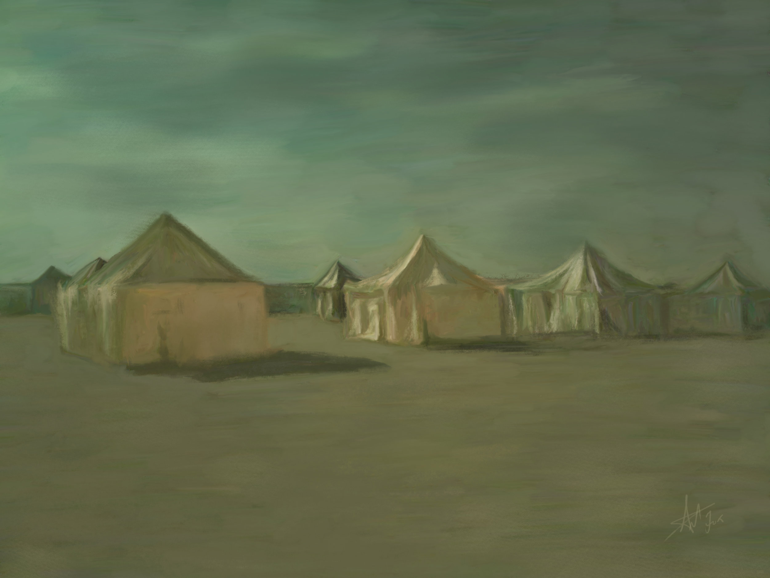 Moonlight Tents