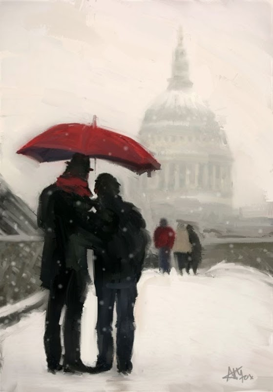 St Pauls in Winter