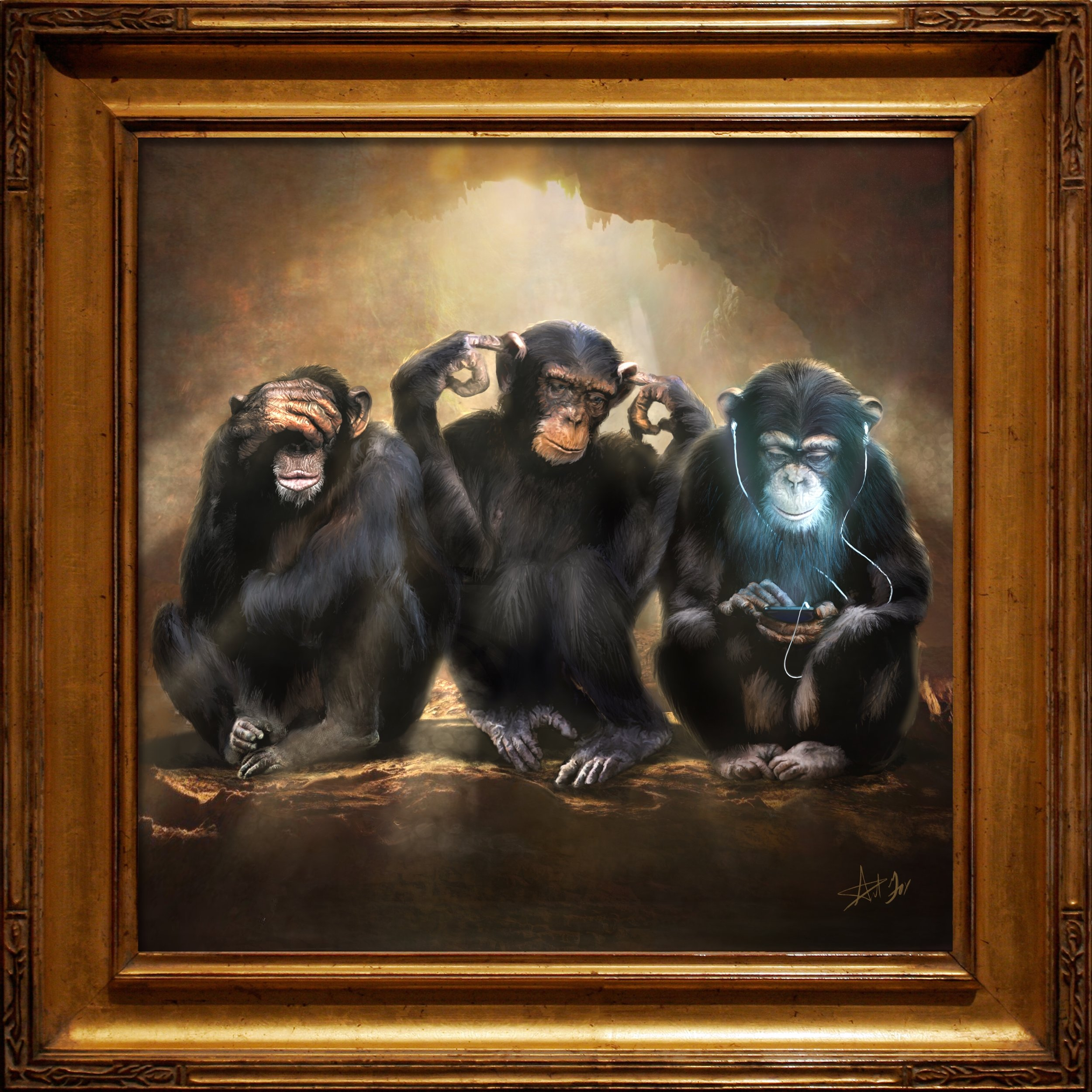 3 wise monkeys framed (1).jpg