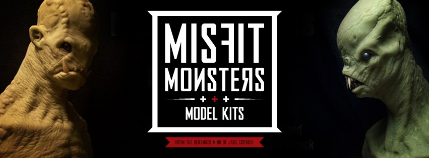 Misfit Models & Model Kits Logo design by Casey Worthing