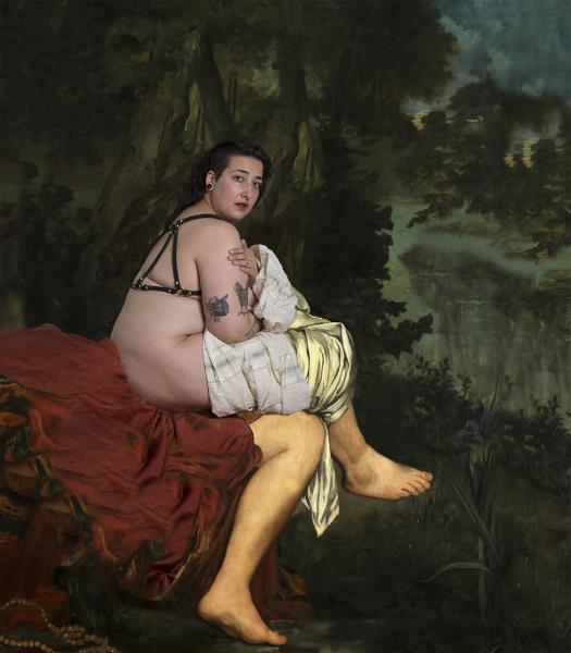 Oli Rodriguez, La nina sorprendida , from the series The Last Seduction