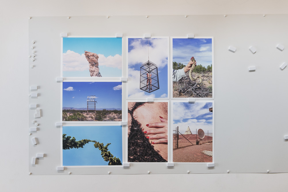Prints by Artist in Residence Justin Clifford Rhody, printed on Canson Infinity Rag Photographique