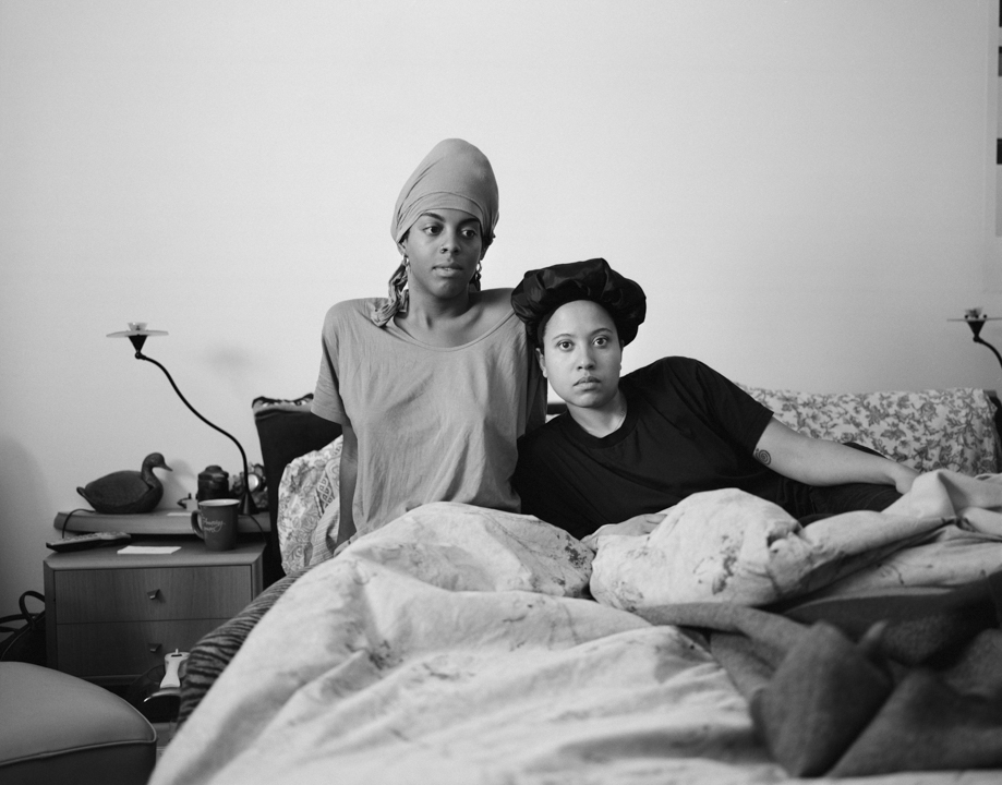 Juror's Choice |  Juliana and Carolyn in the guest room, New Jersey, 2018