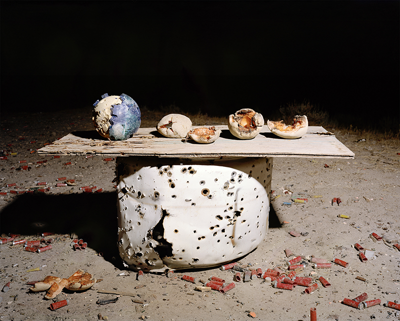 "Bounty (Cantaloupes and bowling ball), 40x50"", 2013, From the series In Range"
